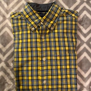 Tommy Hilfiger long sleeve button up shirt